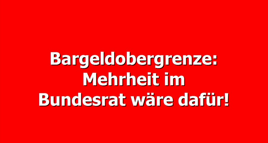 bargeldobergrenze