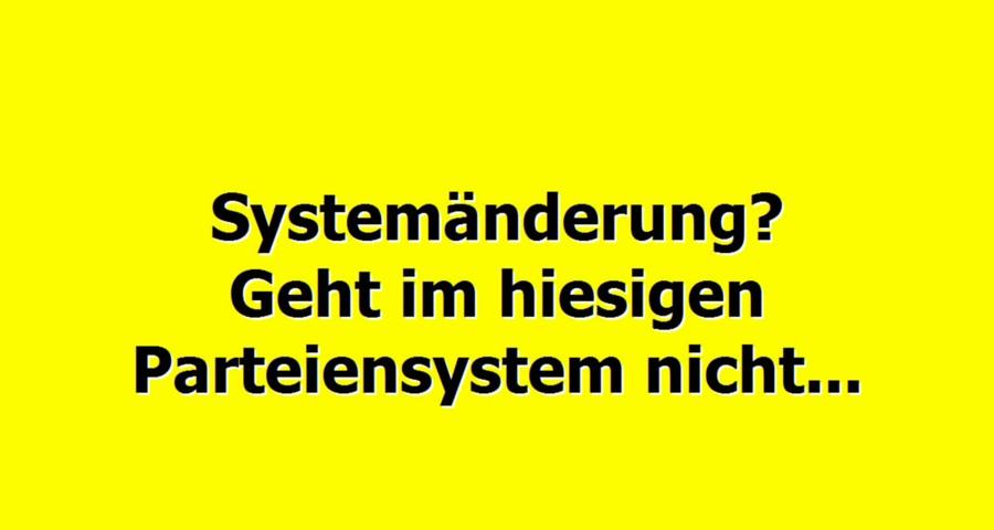 Systemänderung